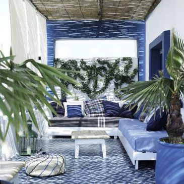 Enhance your Terrace with îlot Colombo Cement Tiles